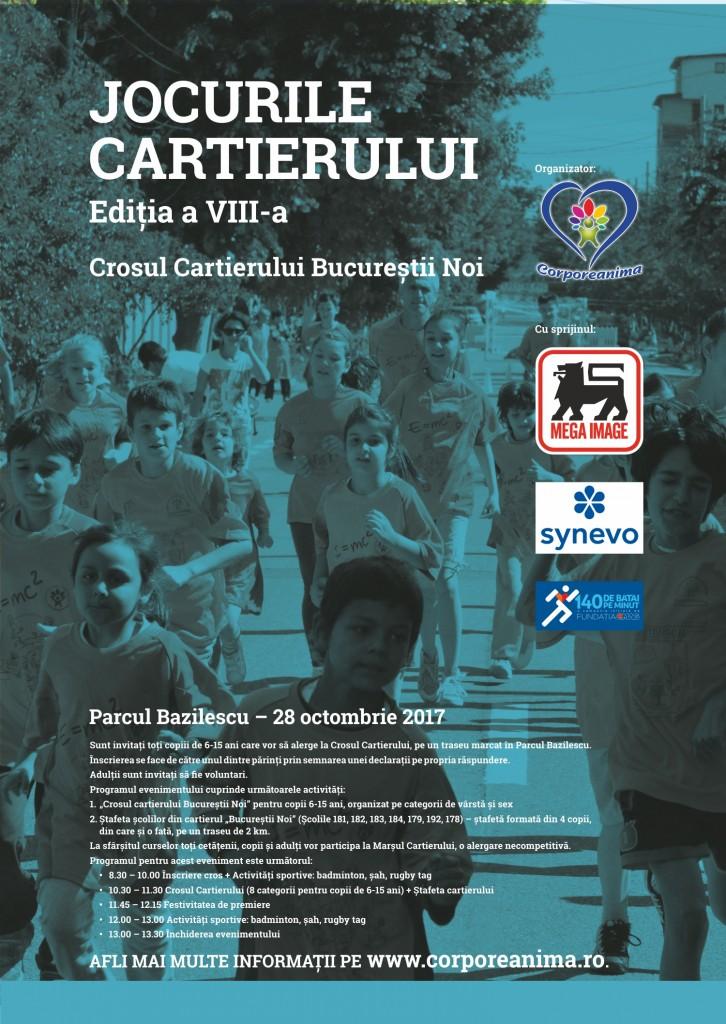 Jocurile cartierului ediția a VIII a – 28 octombrie 2017, Parcul Bazilescu